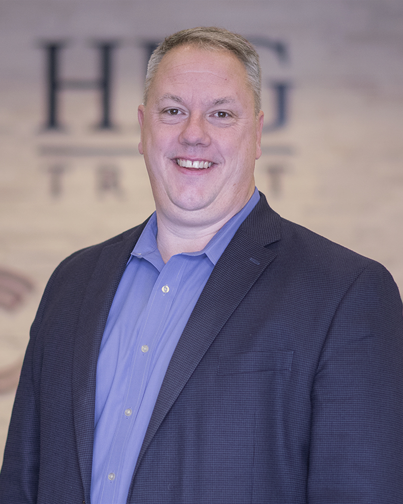 Eric Pearson is the Chief Executive Officer of Community First Bank and HFG Trust in Kennewick, Washington.